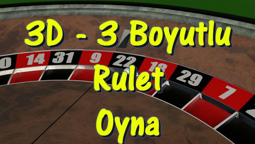 3D Boyutlu Rulet Oyna