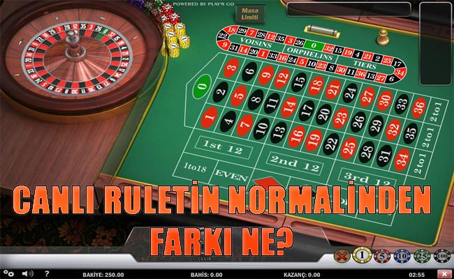 Canlı rulet oynama, Canlı ruletin normalinden avantajları, Canlı ruletin nasıl oynanır